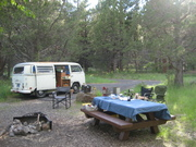Static's camp near Paisley, Oregon