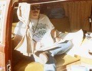1970 Westfalia & Joe in 1987