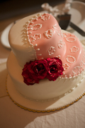 Santorini wedding cakes