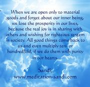 Messages from light by Sandi