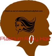 Platinum Ruby Hair