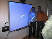 SmartBoard Training.