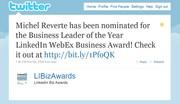 LinkedIn European Business Awards 2010