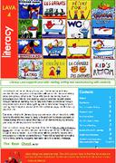 Literacy Lava 4 Cover
