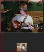 Skype Guitar Lesson with Alex