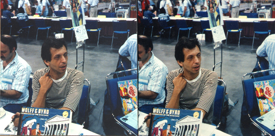 Batton Lash, San Diego Comics convention, early 1990's