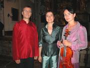 Duo »vola voce« im Trio