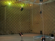 The Anechoic Chamber at the Technical University of Denmark, Lyngby, north of Copenhagen
