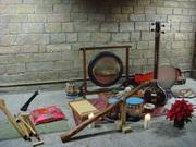 instruments presentació gong ritual nadis