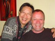 Tran Quang Hai and me - April 20th 2009 in Berlin
