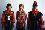 Kiva with 2 Khakhassian artists