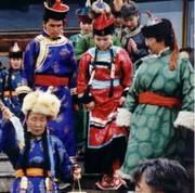 Opening ceremonies- Int'l Symposium of Throat Singing, Tuva 1995