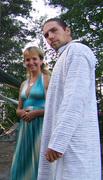 Oleg Rossiyskiy & wife
