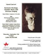 Harmonic Meetings: Chamber Music with Overtone Singing
