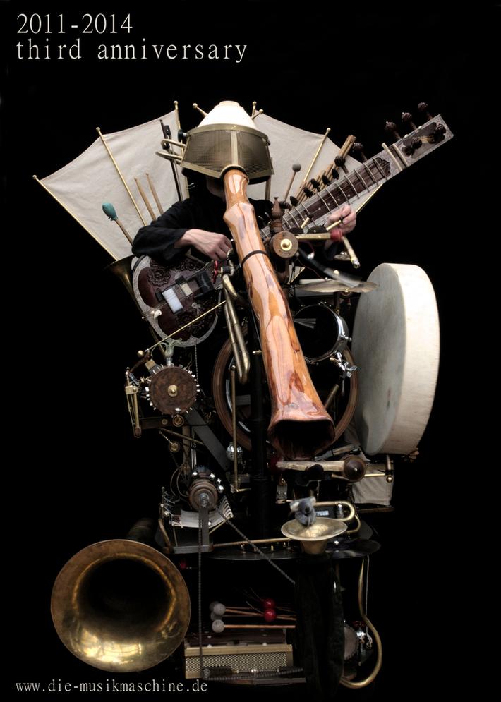 Die Musikmaschine 3 Jahre