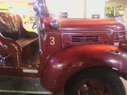 an Old Engine at Fire House Golf