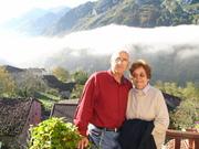 A foggy morning in Sames, Asturias, Spain