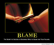 The secret to success is knowing who to blame for your failures