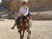 Horseriding in Petra