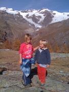 Trekking on the Monte Rosa