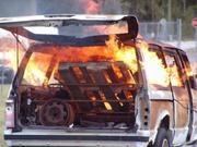 vehicle burn