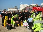 Tel Aviv Firefighter friends