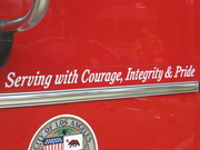Serving with Courage, Integrity & Pride