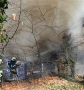 School fire (daytime)