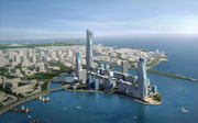 King Abdullah Economic City - Aerial Perspective