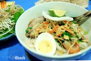 mixed food in hanoi