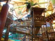 Castaway Bay water jungle gym
