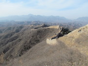 Passing through from Gubeikou to Jinshanling Great Wall