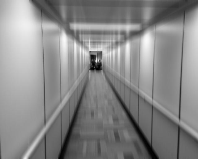 Fear of Flying - ominous boarding finger