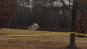 THIS MORNING PLANE CRASH IN BALL FIELD TO KEEP FROM HITTING NEARBY HOMES.j10
