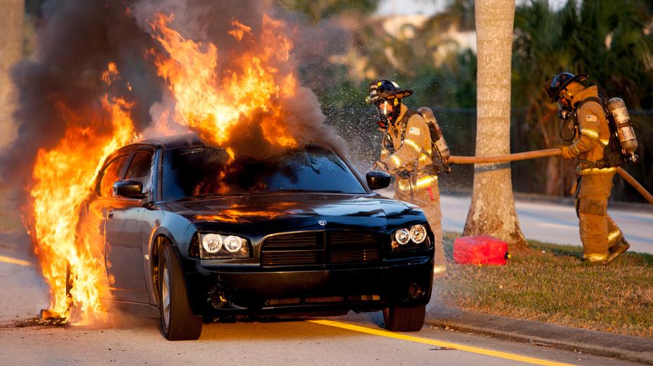 MDFR Car Fire