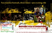 Shine a Light Music Festival Motorcycle Trip