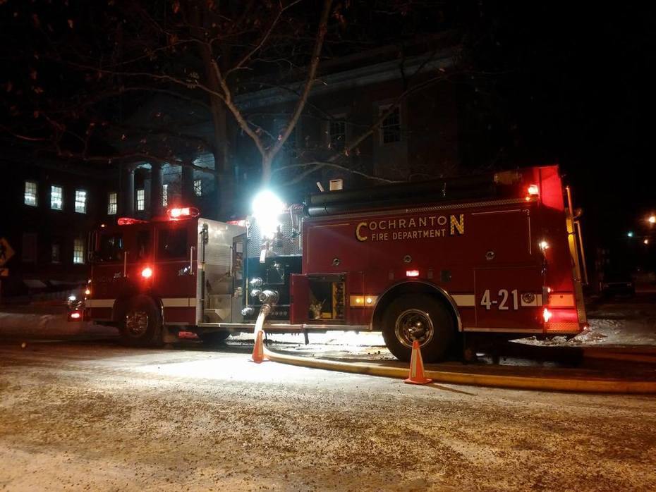 Chestnut St. Fire 1/28/14