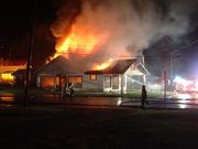 General Store Fire