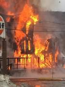 Cox Block fire 12-14-14