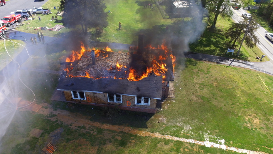 TRAINING PHOTOS FROM A DRONE!
