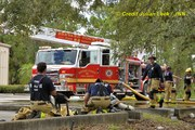 Warehouse Fire West Melbourne Florida