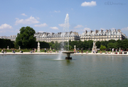 Fountain in the Tuilleries Garden