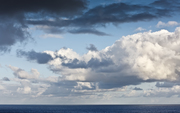 Clouds from the USS Abraham Lincoln