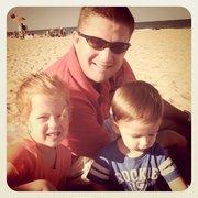 Derek and kids July 2011