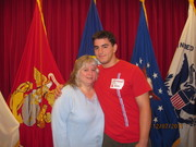 Me and Rob - so proud of him!