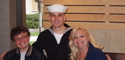 My son, my Sailor and his brother, what a gift!