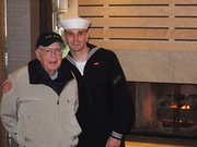 My Sailor with his grandfather!