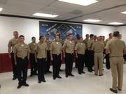 CLASS OF 16 PASSING CHIEF PETTY OFFICER TEST, JOB WELL DONE, CONGRATULATIONS!