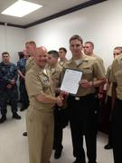 Achieved 3rd Class Chief Petty Officer , CONGRATS! WELL DONE!