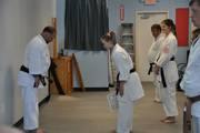 Test for Nidan (2nd degree black belt)